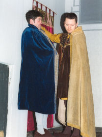 Richard the Lionheart spares the life of his brother John.